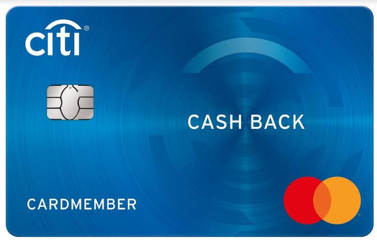 Citi cashback mastercard
