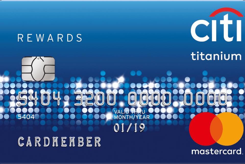 บัตรเครดิต Citi Reward Master Card