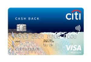 บัตรเครดิตซิตี้ แคชแบ็ก แพลตตินั่ม-ธนาคารซิตี้แบงก์ (Citibank)